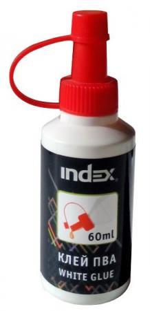 Клей ПВА Index IWG40 40 гр. клей канцелярский index isgr110 110 гр