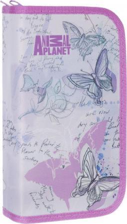 Пенал на двух молниях ACTION! ANIMAL PLANET, без наполнения, ткань,разм. 200х130 мм.,1 дизайн|2 AP-A пенал на трех молниях action animal planet ap pc03 03