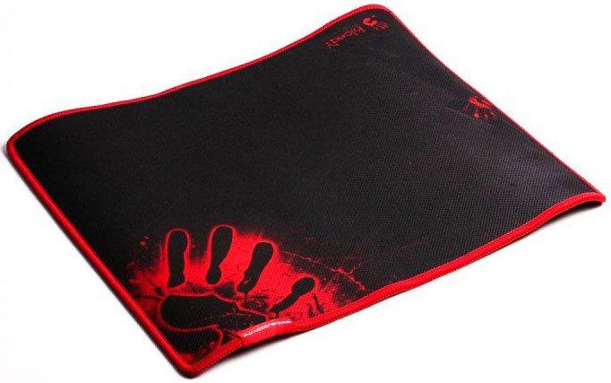 Коврик для мыши A4Tech Bloody B-081S черный/рисунок, 350х280х2мм коврик для мыши a4tech bloody b 081 резин с ткан покр м 350x280x4 мм