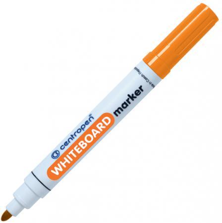 Маркер для доски Centropen круглый наконенчик, оранжевый 8559/1О маркер флуоресцентный centropen 8722 1о оранжевый
