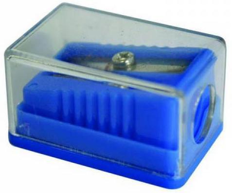 Набор точилок пластмассовых Action! ТЕХНО, с прозр. мини-контейнером, 2 шт., п/п с е/подвесом