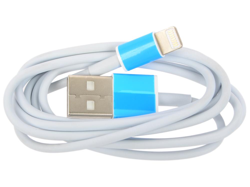Кабель-переходник WIIIX CB600-2A-U8-10W USB-8pin белый кабель lightning 1м wiiix круглый cb120 u8 10b
