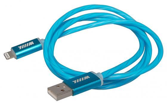 Кабель-переходник WIIIX CBL710-U8-10BU USB-8pin синий кабели wiiix кабель переходник usb microusb