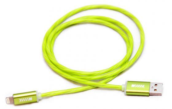Кабель-переходник WIIIX CBL710-U8-10G USB-8pin зеленый кабель переходник wiiix cb120 u8 10og usb 8pin оранжевый