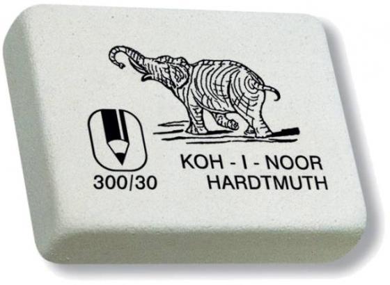 Ластик Koh-i-Noor ELEPHANT прямоугольная форма, разм. 35х30 мм 300/30-27 цены онлайн