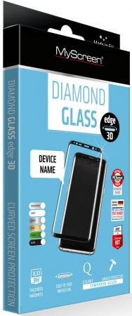 пленка защитная Lamel 3D закаленное стекло MyScreen 3D DIAMOND Glass EA Kit White iPhone 6/6S Plus туши lamel lamel professional тушь для ресниц ideal lash