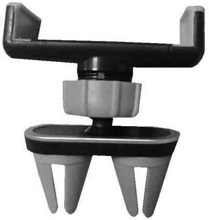 Автомобильный держатель Wiiix HT-23V-2 черный/серый держатель wiiix ht 23v черный для смартфонов