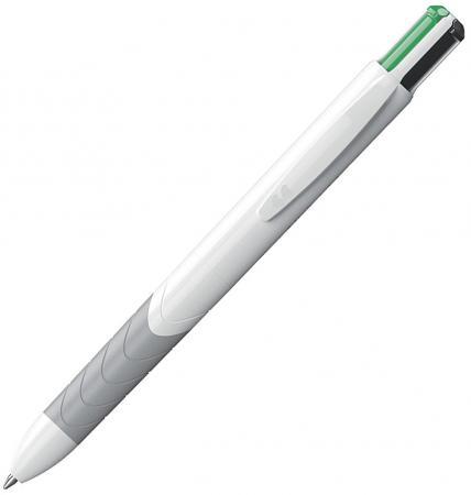 Ручка шариковая PAPER MATE QUATRO, 4 цвета в одной ручке черн/син/зел/красн, карманный зажим,в блист ручка шариковая flair air balance син в блистере f 872 син