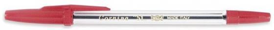 Ручка шариковая CARIOCA CORVINA 51, прозрачный корпус, 0.7 мм, красная 40383/03/28311 ручка шариковая wx 583 красная