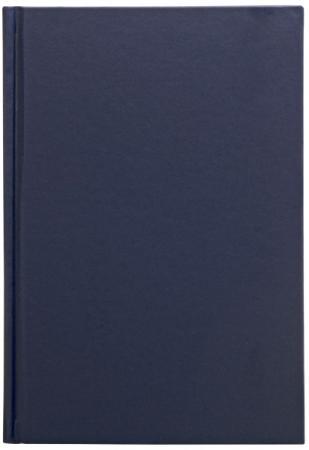 Ежедневник недатированный Index ф.А5, обложка пвх, лин.,ляссе,336с., темно-синий IDN115/A5/DB chlxl темно синий 15