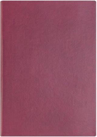 Ежедневник недатированный Index Spectrum ф. а5, кожзам, лин, ляссе, 256с, бордовый IDN121/A5/RD