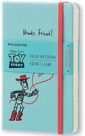 Блокнот Moleskine Limited Edition TOY STORY LETSMM710 Pocket 90x140мм 192стр. линейка голубой пальто alix story alix story mp002xw13vuo