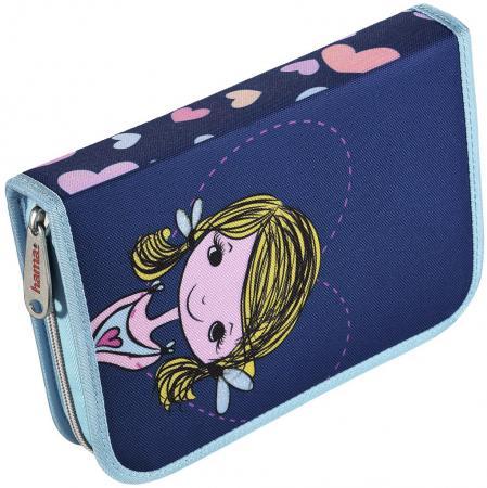 Пенал HAMA Lovely girl 139128 мешок для обуви hama lovely girl 00139115