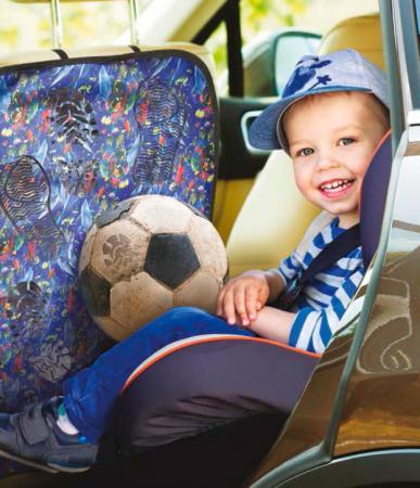 Накидка защитная на спинку сиденья ZIPOWER PM 6263 накидка защитная на спинку переднего сидения dollex город с карманом 61 х 46 см