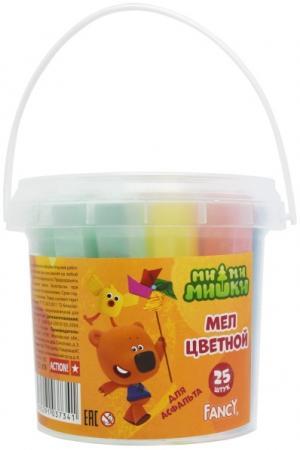 Мелки для асфальта Action! Fancy 25 штук 5 цветов от 3 лет FCC-25b ce emc lvd fcc ozonizer for disinfecting vegetables