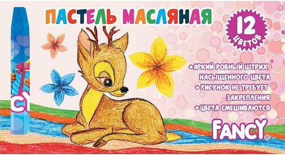 Масляные карандаши Action! Fancy 12 штук 12 цветов от 3 лет FOP200-12 масляные карандаши action fancy 12 штук 12 цветов от 3 лет fop200 12