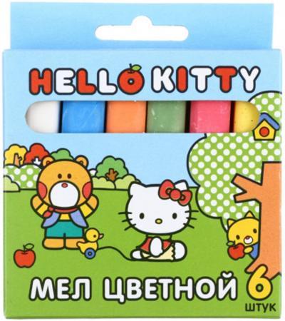 Мелки школьные Action! HELLO KITTY 6 штук 6 цветов hello kitty hellokitty детские школьные сумки прекрасный свежий и простой случайный легкий рюкзак школьный ktm0003b розовый