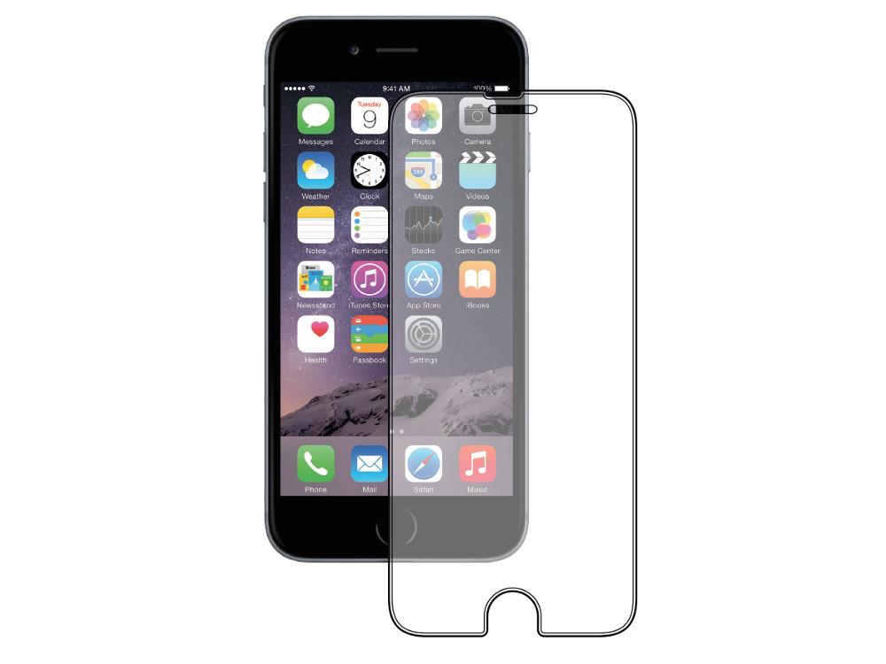 Защитное стекло Deppa для Apple iPhone 6/6S, 0.3 мм, прозрачное, 61992 deppa защитное стекло для apple iphone 6 plus прозрачное и рамка для легкой установки 0 2 мм