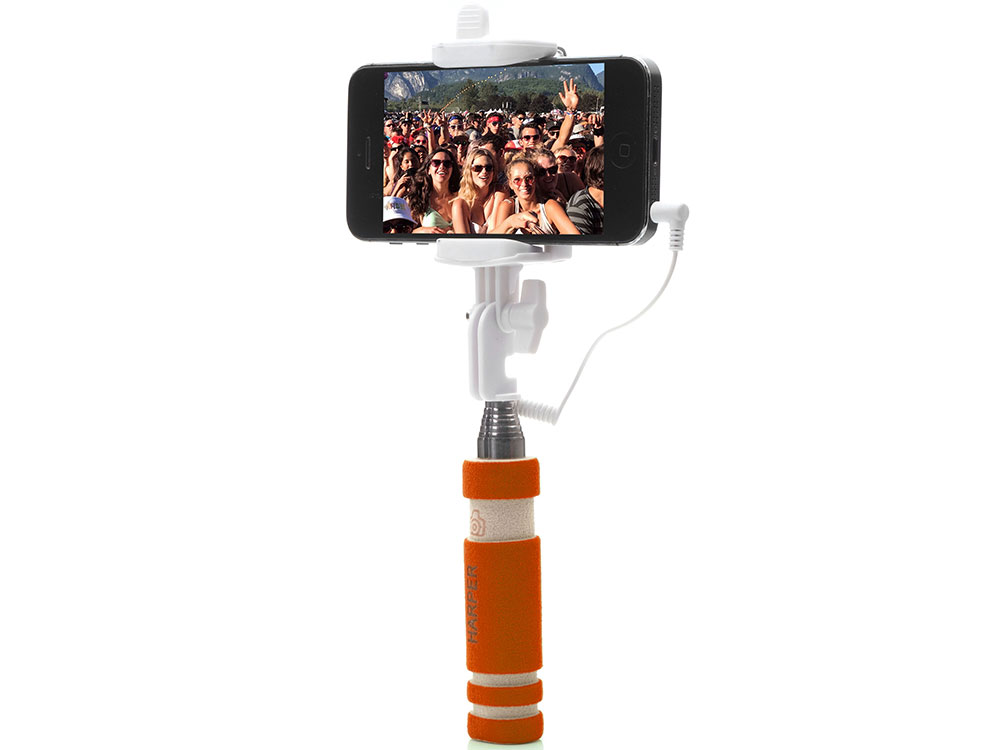 все цены на Монопод HARPER SO-200 Orange (Монопод для сэлфи с кабелем) онлайн