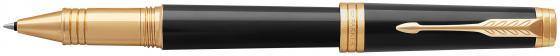 Ручка роллер Parker Premier T560 Lacque (1931411) Black GT F черные чернила подар.кор. ручка роллер parker sonnet t528 s0817970 matte black gt f черные чернила подар кор