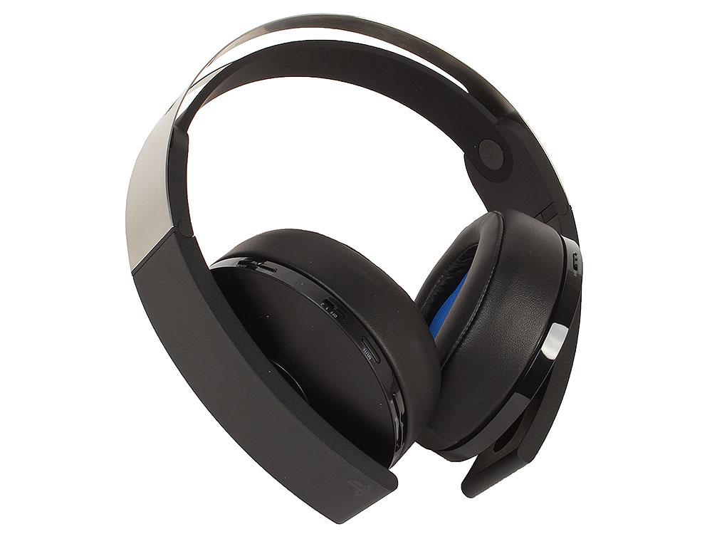 Беспроводная стереогарнитура ПЛАТИНА для PS 4 и PS Vita Черный цена и фото