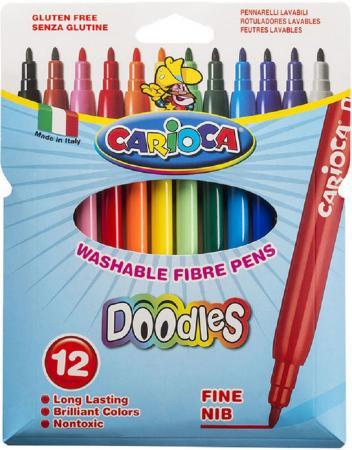 Набор фломастеров CARIOCA DOODLES, 12 цв., в карт конверте с европодвесом over 100 monster doodles