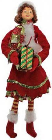 Украшение- подвеска декоративная ЭЛЬФ новогодний, 27 см, 1 цв.
