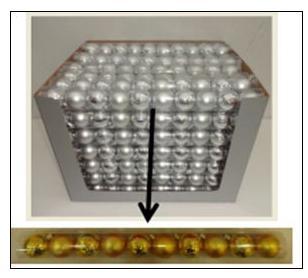 Набор украшений елочных ШАРЫ, 10 шт, 4 см набор украшений елочных 8 см 6 шт в коробке стекло