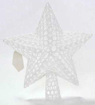 Наконечник Winter Wings Звезда 19*20 см 1 шт белый хлопок