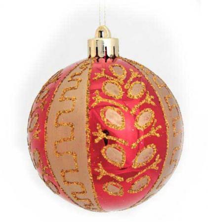 Фото - Набор шаров блестящих, в прозрачной коробке, 3 шт., 7 см, 4 цв. набор шаров блестящих крайний север 6 шт в подарочной коробке 5 6 7 5 см