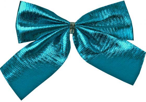 Елочные украшения Winter Wings Бантики 8 см 6 шт синий текстиль елочные украшения winter wings туфелька фиолетовый 8 см 2 шт n069391