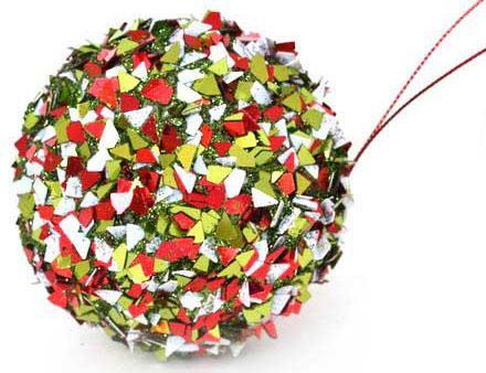 Украшение елочное ШАР ИСКРЫ, 1 шт., 8 см, 6 цв. в прозрачной коробке, пластик. украшение елочное шар звездный 1 шт 8 см 3 цв в прозр коробке пластик