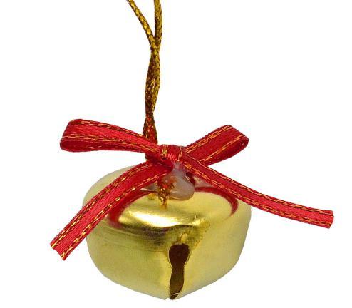 Елочные украшения Winter Wings Колокольчики 2.5 см 12 шт золотой елочные украшения winter wings шишки 7 см 3 шт золотой