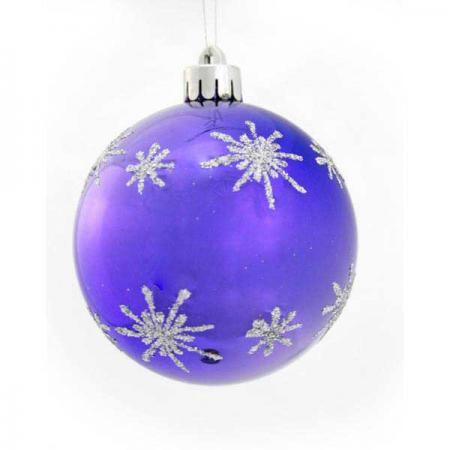 Фото - Набор шаров блестящих ЗВЕЗДОЧКА, в прозрачной коробке, 3 шт., 7 см, 6 цветов набор шаров блестящих крайний север 6 шт в подарочной коробке 5 6 7 5 см