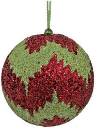 Шар блестящая крошка, 1 шт., 8 см, 4 цв.|1 украшение декоративное снежинка блестящая крошка 1 шт в прозрачном пакете 27 см 6 цв