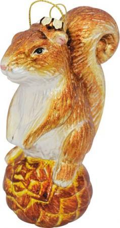 Елочные украшения Winter Wings Белка 12.5 см 1 шт пластик елочные украшения winter wings шары зеркальные 2 см 20 шт серебро пластик