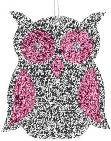 Елочные украшения Winter Wings Сова 12 см 1 шт пурпурный N181965P елочные украшения winter wings цветок эльф 19 см 1 шт розовый