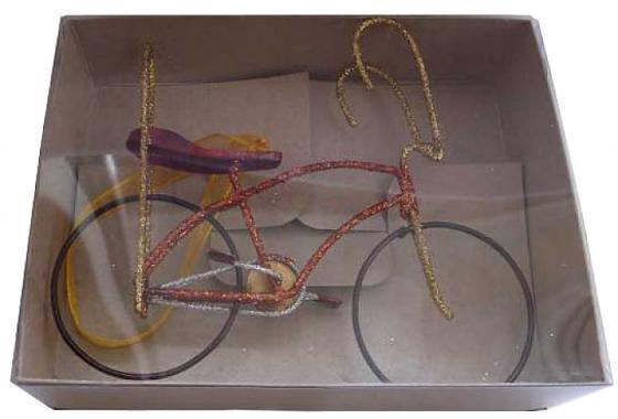 Елочные украшения Winter Wings Велосипед 13*3*10 см 1 шт в ассортименте металл елочные украшения winter wings сосульки 13 см 3 шт пластик