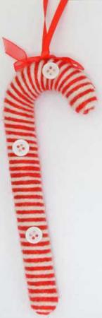 Украшение декоративное КАРАМЕЛЬ, 11 см, полиэстр, 3 вида, 1 шт в пакете украшение декоративное белочка 17 см полиэстр