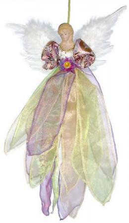 Украшение декоративное АНГЕЛ, 1 шт, 50 см, в пакете, полиэстерб фиолетовое декоративное украшение ангел 28047