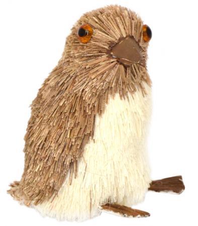 Украшение декоративное ПИНГВИН, 7*5*8 см, соломка рождественские rhinestone симпатичные пингвин брошь pin подарка xmas украшение партии