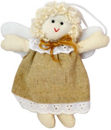 Украшение декоративное АНГЕЛ КАНТРИ, 10,5 см, полиэстр 14 145 икона ангел хранитель с золочением