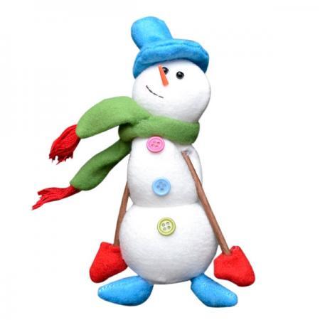 Украшение Winter Wings Снеговик 18 см 1 шт полиэстер украшение luazon снеговик blue 1351712
