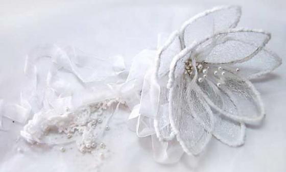 Украшение декоративное ЦВЕТОК, 1 шт, 28 см,в пакете,полимерный материал украшение декоративное зимний пейзаж 15 см полимерный материал