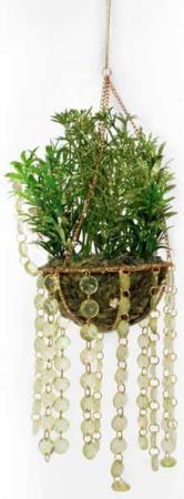 Украшение декоративное ЦВЕТОЧНОЕ КАШПО, 22 см, полирезин, пластик dg декоративное кашпо