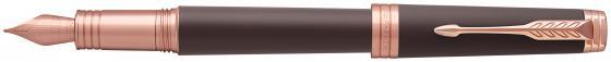 Перьевая ручка Parker Premier F560 Soft Brown PGT F 1931405 ручка шариковая parker premier soft k560 1876397 brown pgt m чернила черный ювелирная латунь