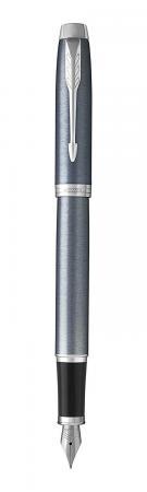 Перьевая ручка Parker IM Core F321 Light Blue Grey CT синий 0.8 мм перо F (1931648) parker ручка перьевая urban night sky blue ct синяя