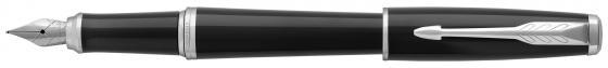 Перьевая ручка Parker Urban Core F309 Black Cab CT синий 1931596 перо F parker ручка перьевая urban night sky blue ct синяя