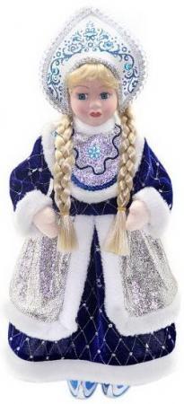 Кукла Новогодняя сказка Снегурочка 43 см 1 шт синий пластик, текстиль. мягкие игрушки новогодняя сказка кукла снегурочка 35 5 см красн бел