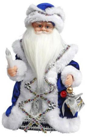 Дед Мороз Новогодняя сказка 30 см 1 шт синий пластик, текстиль, мех 972609 книги издательство аст новогодняя сказка выше некуда